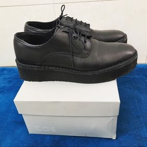 Cos chunky oxfords size 6